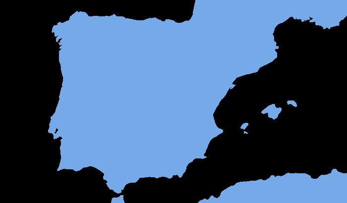 Spanien Karte Küsten.Wetter Spanien Wettervorhersage Und Wetteraussichten Für Spanien